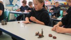 Creating clay creatures
