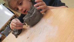 clay pot modelling