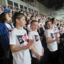 Children at Young Voices concert